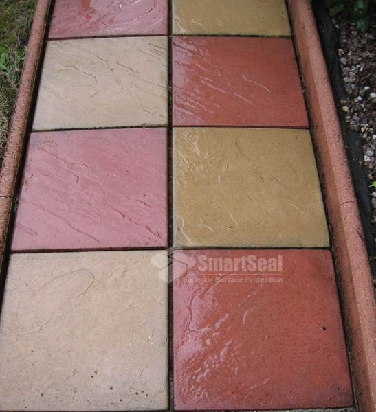 Patio cleaning and drive cleaning kent by pavesmart for How to clean concrete slabs